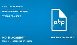 Indi IT Academy - Industrial Training in Chandigarh Mohali