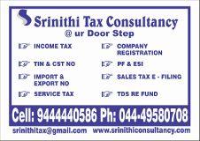 Company logo Srinithi Tax Consultancy