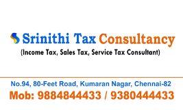Fotos de Srinithi Tax Consultancy